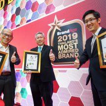 SCG คว้า Thailand's Most Admired Brand 2019 หมวดสินค้าวัสดุก่อสร้าง