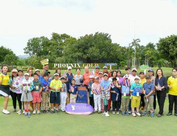 โปรสาวร่วมเสริมทักษะสร้างนักกอล์ฟเยาวชนผ่านกิจกรรมกอล์ฟคลินิก
