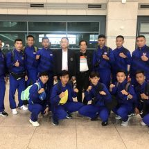 ทัพนักมวยไทยสมัครเล่น บินถึงเกาหลีใต้ พร้อมทำศึกชิงแชมป์โลกมาร์เชียล อาร์ท มาสเตอร์ ชิบ ครั้งที่ 2
