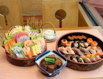 """บุฟเฟต์อาหารญี่ปุ่น """"ซูชิพรีเมี่ยม @ """"ห้องอาหารญี่ปุ่นไดอิจิ"""" สด สะอาด วัตถุดิบนำเข้าเกรดพรีเมี่ยม รสชาติต้นตำรับ"""