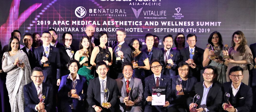 """Apex Medical Center รับรางวัล Global Health Awards 2019  รางวัลสูงสุดแห่งวงการ """"ศัลยกรรมตกแต่ง"""" ติดต่อเป็นปีที่ 2"""