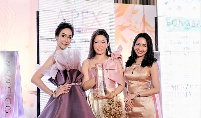 Apex Medical Center รับรางวัล   Top Achiever for Ulthera Transducer