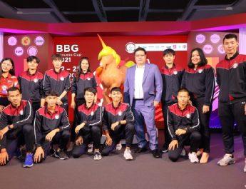 """BG จัดงานแถลงข่าว """"BBG Princess Cup 2021"""" ชิงถ้วยพระราชทาน สมเด็จพระเจ้าลูกเธอ เจ้าฟ้าพัชรกิติยาภา นเรนทิราเทพยวดี กรมหลวงราชสาริณีสิริพัชร มหาวัชรราชธิดา พร้อมเปิดตัวมาสคอต """"BBG Unicorn"""" สัญลักษณ์แห่งความบริสุทธิ์"""