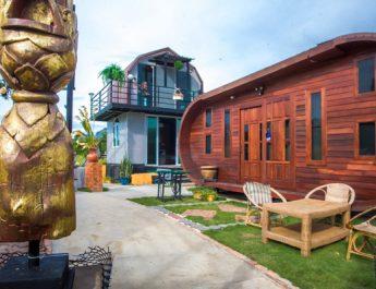 Sea Breeze Villa&Café รีสอร์ทสไตล์แกลลอรี่ท่ามกลางขุนเขาและธรรมชาติใกล้แหล่งท่องเที่ยวสามร้อยยอด