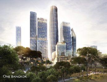 มิตซูบิชิ อิเล็คทริค ได้รับความไว้วางใจจาก วัน แบงค็อก (One Bangkok) ศูนย์กลางธุรกิจแห่งใหม่ ติดตั้งลิฟต์และบันไดเลื่อน 278 เครื่อง พร้อมติดตั้งลิฟต์แบบห้องโดยสารคู่ เปิดตัวเป็นครั้งแรกในประเทศไทย